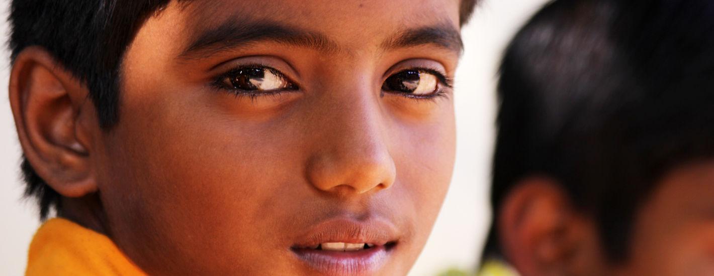 Indien Junge