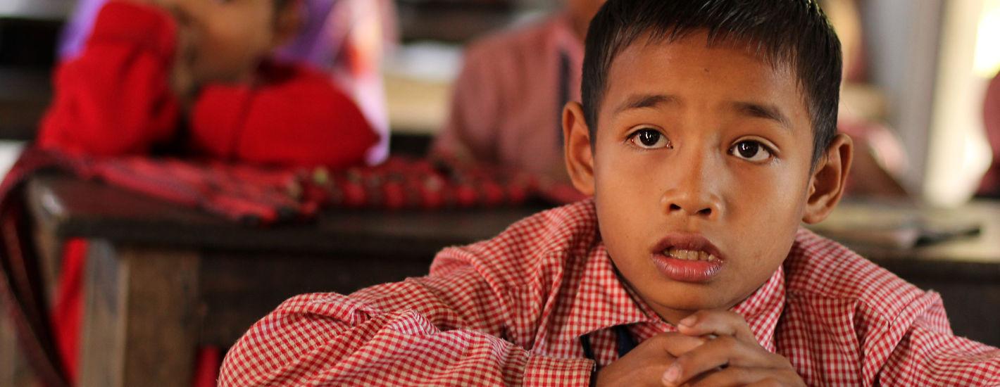 Schule Indien